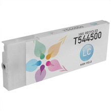 Remanufactured Replacement for Epson T544500 (T5445) High Capacity Pigment Light Cyan 220ml Ink Cartridge