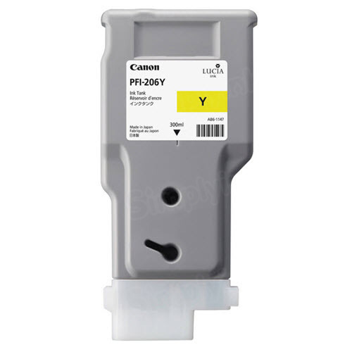 OEM Canon PFI-206Y Yellow Ink