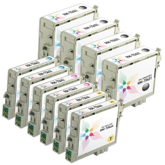 Epson C84, CX6600 Remanufactured Ink Set of 10
