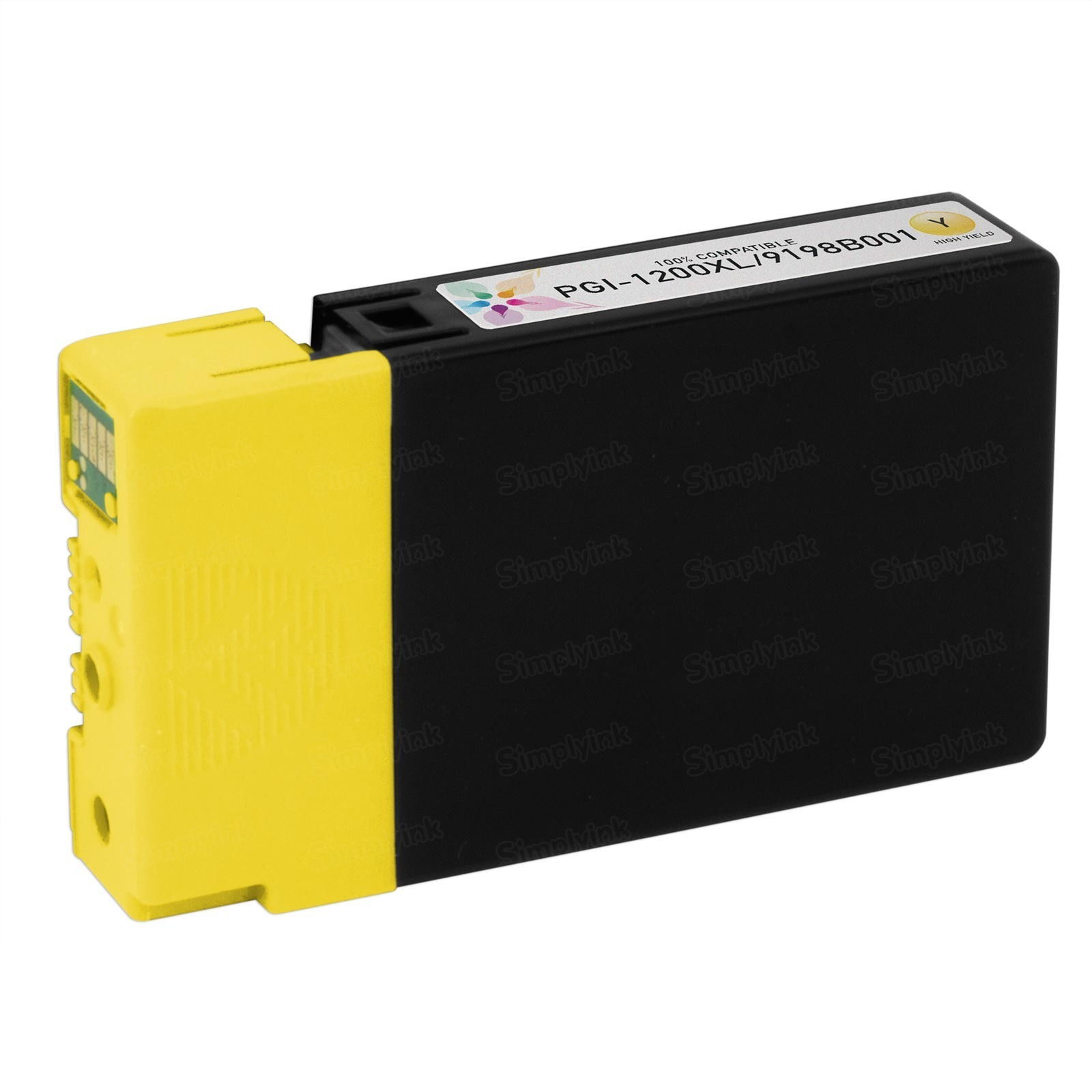 Canon 9198B001 HY Yellow Ink Cartridge, Compatible