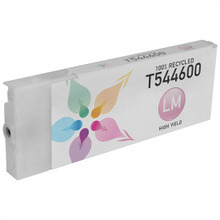 Remanufactured Replacement for Epson T544600 (T5446) High Capacity Pigment Light Magenta 220ml Ink Cartridge