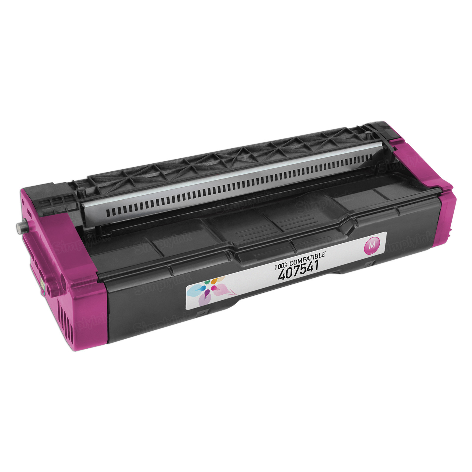 Compatible 407541 Magenta Toner for Ricoh