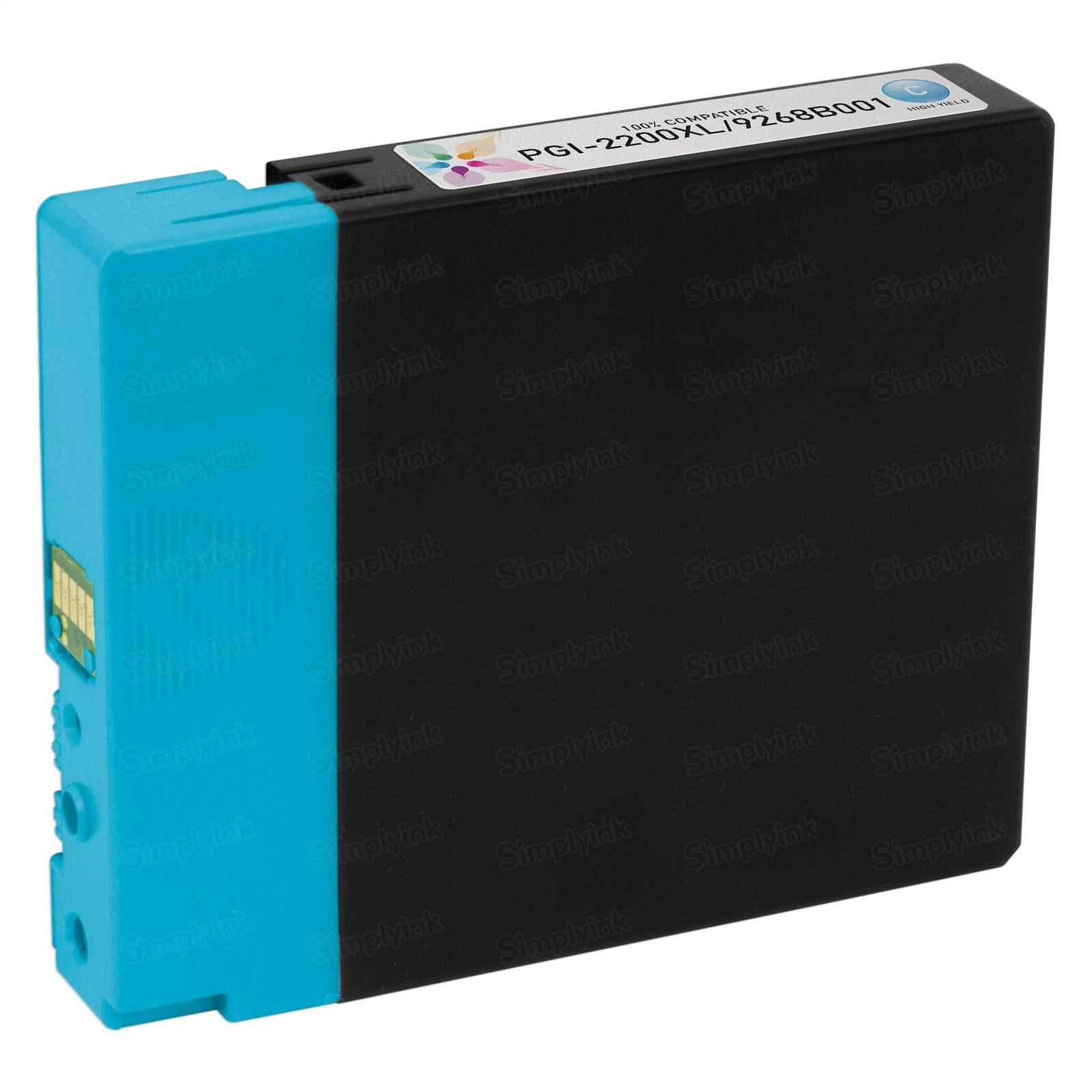 Canon 9268B001) HY Cyan Ink Cartridge, Compatible