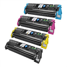 Remanufactured Replacement for HP 121A Black, Cyan, Magenta, Yellow Set of 4 Toner Cartridges