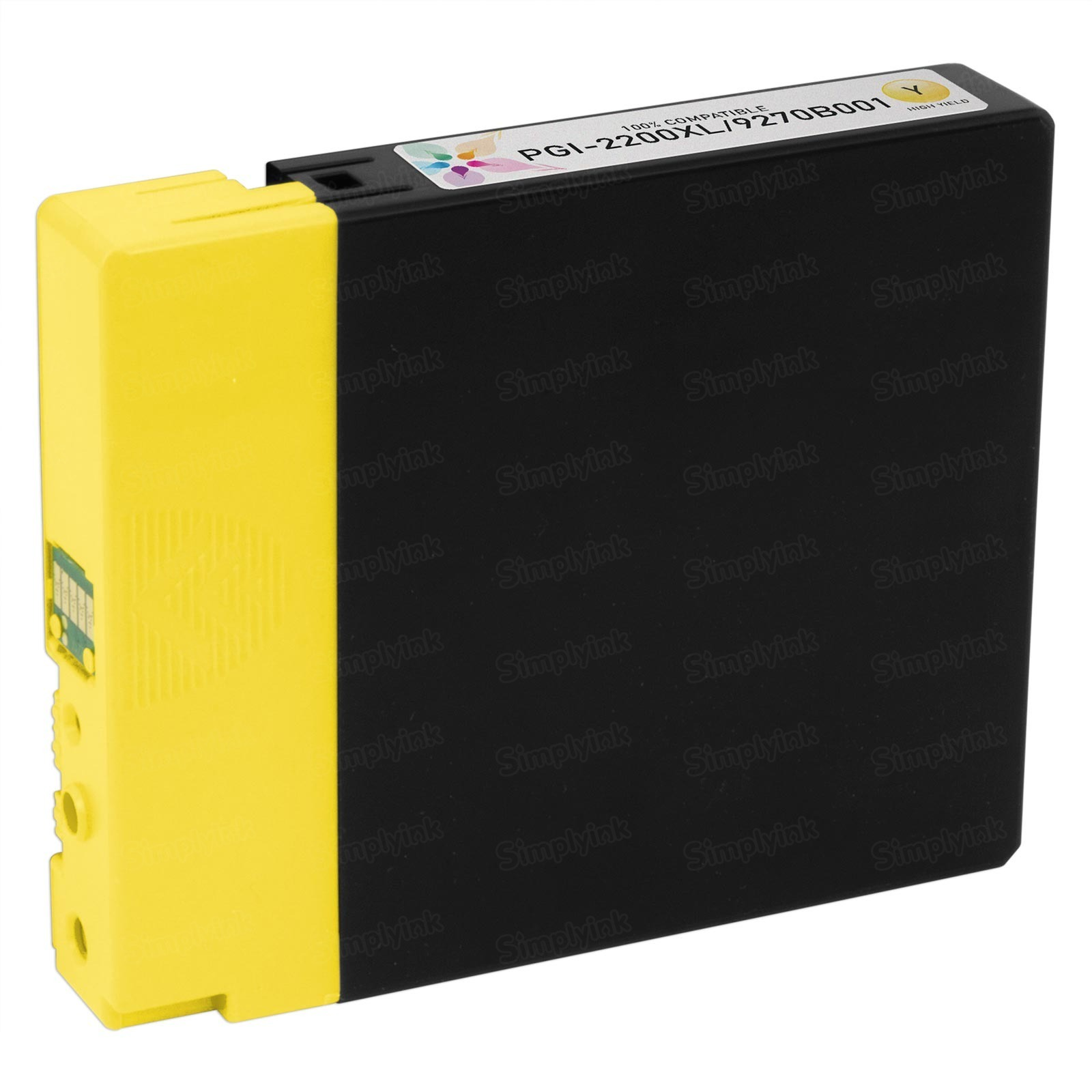 Canon 9270B001) HY Yellow Ink Cartridge, Compatible