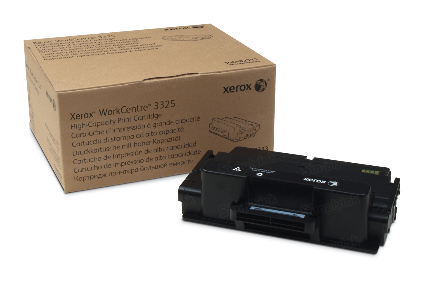 Xerox 106R02313 (106R2313) EHY Black OEM Toner Cartridge