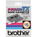 Brother TX-4311 1/2 Black on Red OEM Tape