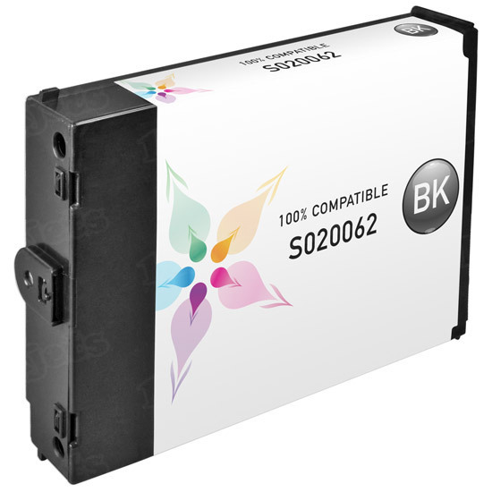 Epson Compatible S020062 Black Inkjet Cartridge for the Stylus 1500