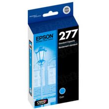 OEM Epson T277220 (277) Claria Photo Hi-Definition Cyan Ink Cartridge