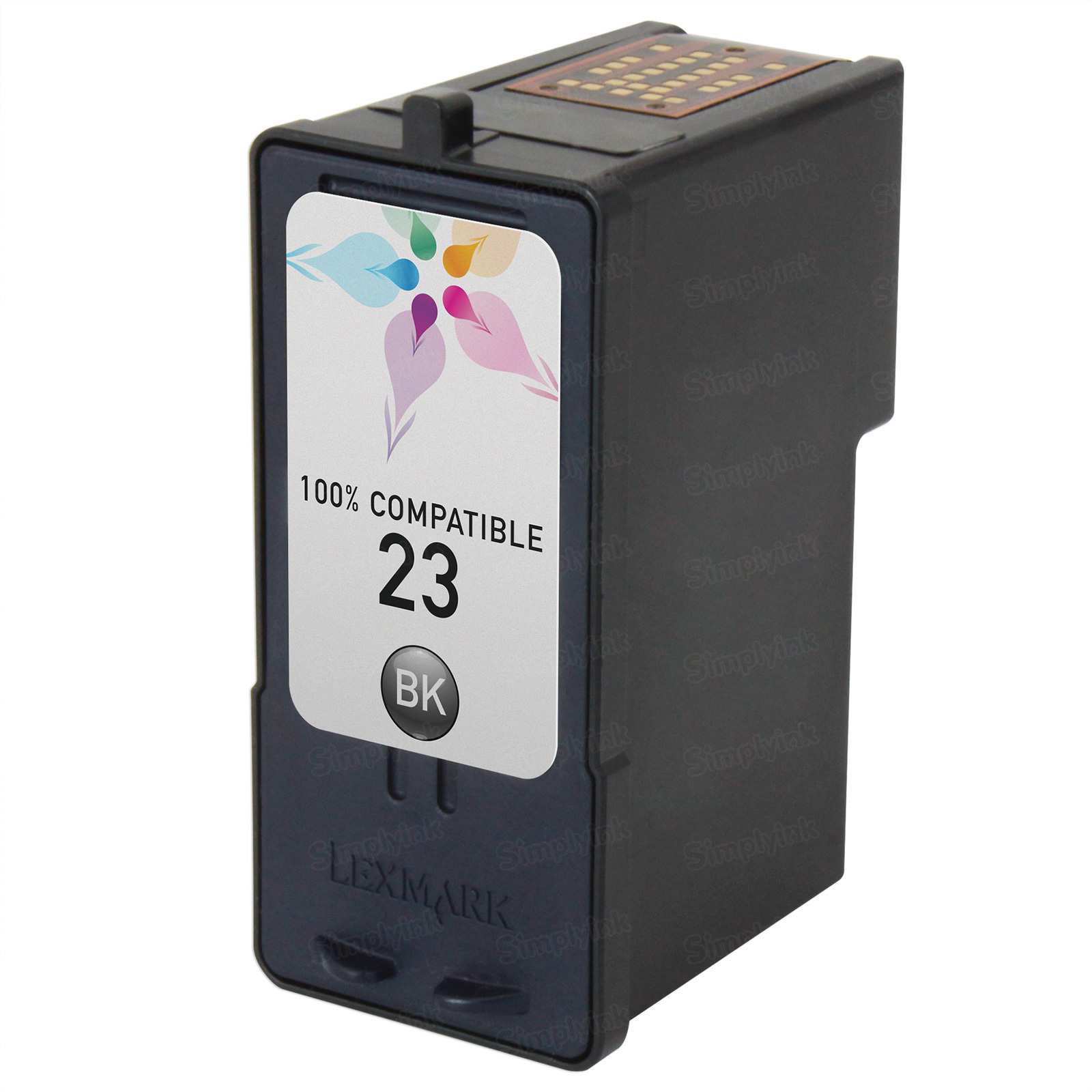 Lexmark Remanufactured 18C1523 Black Ink