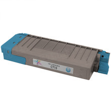 Compatible Okidata 43866103 Cyan Laser Toner Cartridges for the Oki C710 11.5K Page Yield