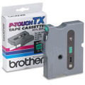 Brother TX-7311 1/2 Black on Green OEM Tape