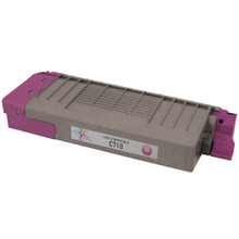 Compatible Okidata 43866102 Magenta Laser Toner Cartridges for the Oki C710 11.5K Page Yield