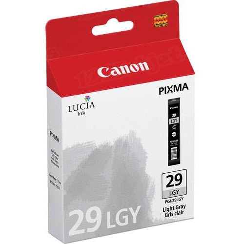 Canon PGI-29LGY Light Gray OEM Ink Cartridge