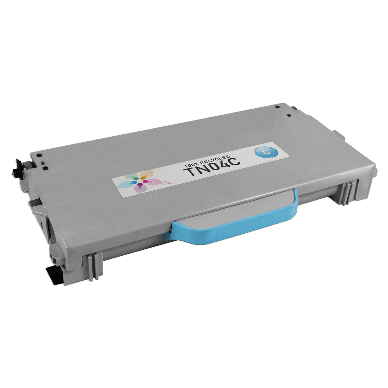 Remanufactured Brother TN04C Cyan Laser Toner