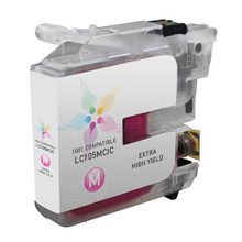 Compatible Brother LC105M Super High Yield Magenta Ink Cartridges