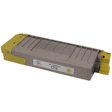 Compatible Okidata 43866101 Yellow Laser Toner Cartridges for the Oki C710 11.5K Page Yield
