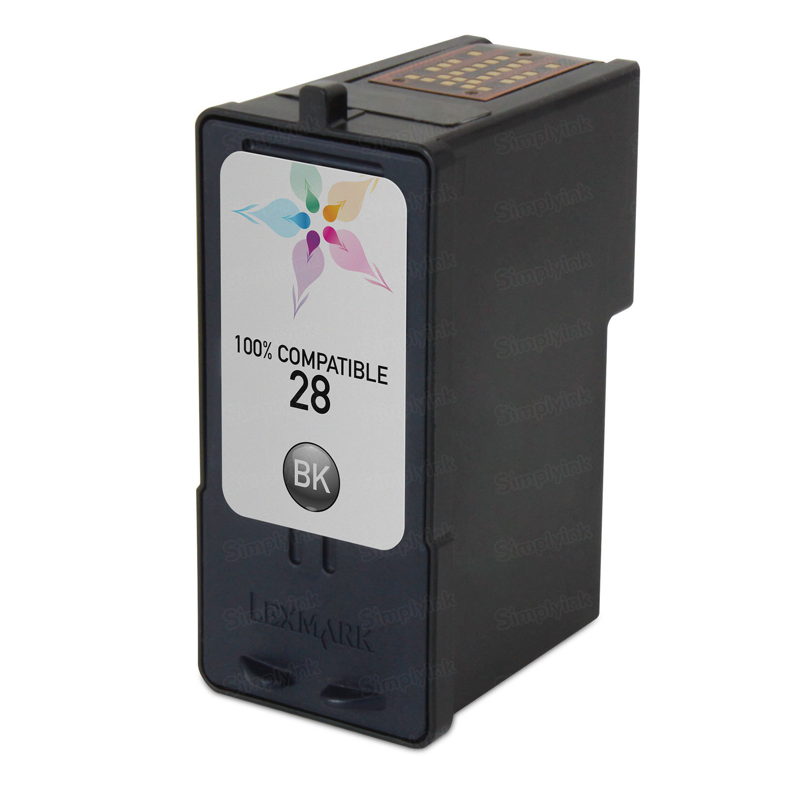Lexmark Remanufactured 18C1528 Black Ink