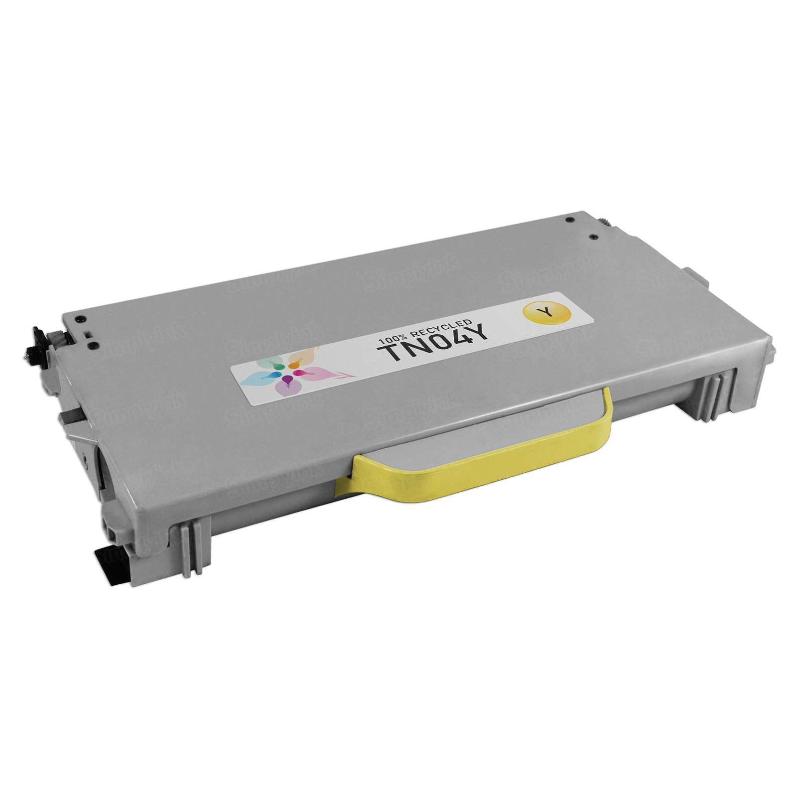 Remanufactured Brother TN04Y Yellow Laser Toner