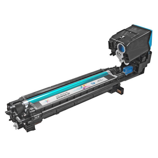 Remanufactured A0WG0JF HY Cyan Toner Cartridge for Konica-Minolta