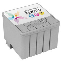 Compatible Replacement for Epson S020110 Color Ink Cartridges for the Stylus Photo 700