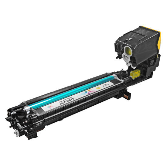 Remanufactured A0WG07F HY Yellow Toner Cartridge for Konica-Minolta