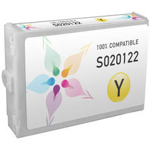 Compatible Replacement for Epson S020122 Yellow 110ml Ink Cartridges for the Stylus Color 3000, Stylus Pro 5000