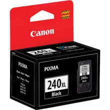 Canon PG-240XL Black OEM High-Yield Ink Cartridge, 5206B001