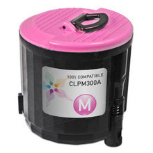 Compatible Replacements for Samsung CLP-M300A Magenta Laser Toner Cartridges for the CLP-300, CLX-3160FN, CLX-2160N 1K Page Yield
