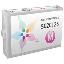 Compatible Replacement for Epson S020126 Magenta Ink Cartridges for the Stylus Color 3000