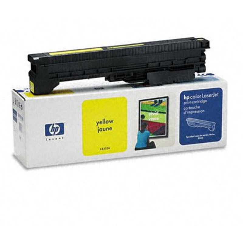 Original HP C8552A (822A) Yellow Toner