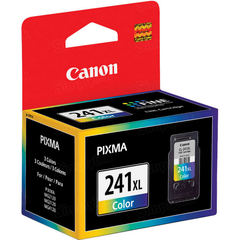 Canon CL-241XL Tri-Color OEM Ink Cartridge
