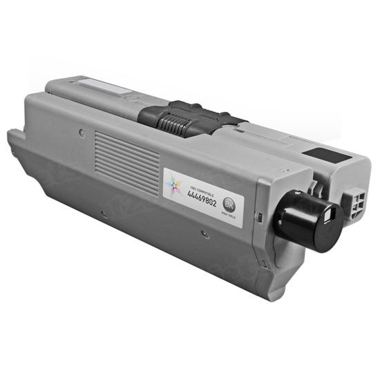 Compatible 44469801 Black Toner for Okidata