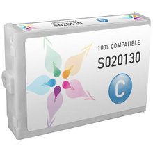Compatible Replacement for Epson S020130 Cyan Ink Cartridges for the Stylus Color 3000