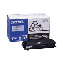 Brother OEM Black TN670 Toner Cartridge