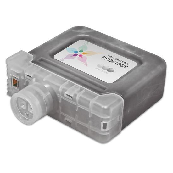 Canon Compatible PFI-301PGY Photo Gray Ink