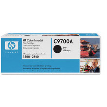 HP 121A (C9700A) Black Original Toner Cartridge in Retail Packaging