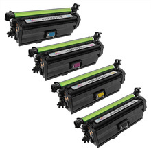Compatible Replacement for HP 653X Black, Cyan, Magenta, Yellow Set of 4 Toner Cartridges