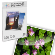 Premium Glossy Inkjet Photo Paper (8.5X11) 20 pack - Resin Coated