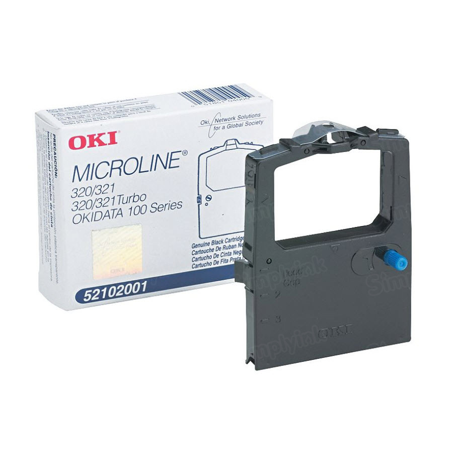 Okidata 52102001 Black Ribbon, OEM