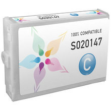 Compatible Replacement for Epson S020147 Cyan 110ml Ink Cartridges for the Stylus Pro 5000