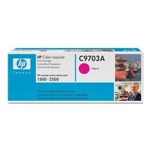 HP 121A (C9701A) Cyan Original Toner Cartridge in Retail Packaging