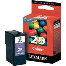 Lexmark #29 Color Inkjet Cartridge, OEM 18C1429