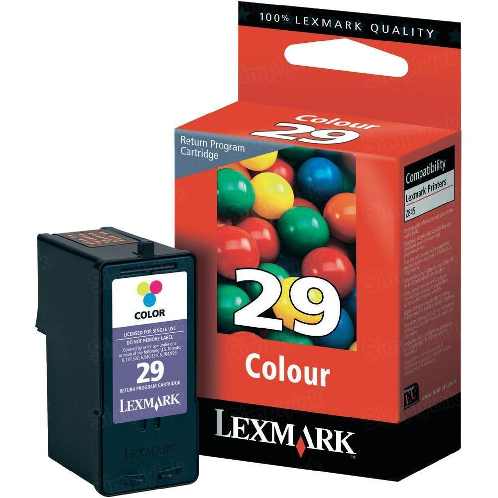 Lexmark 29 Color OEM Ink Cartridge (18C1429)