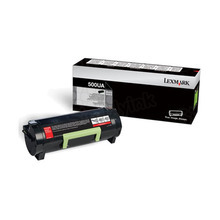 Lexmark OEM Extra High Yield Black Laser Toner Cartridge, 50F0XA0 (MS410d / MS415dn) (10,000 Page Yield)