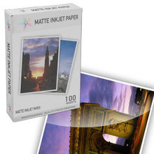 Heavy Coated Matte Inkjet Paper (8.5X11) 100 pack - High Resolution