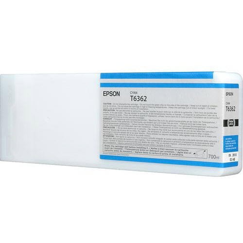 OEM Epson T636200 Cyan Ink Cartridge