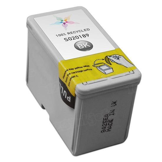 Epson Remanufactured S020189 (S189108) Black Inkjet Cartridge