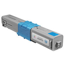 Compatible Okidata 44469721 (Type C17) High Yield Cyan Laser Toner Cartridges 5K Page Yield