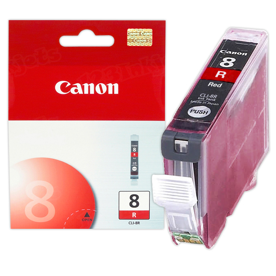Canon CLI-8R Red OEM Ink Cartridge
